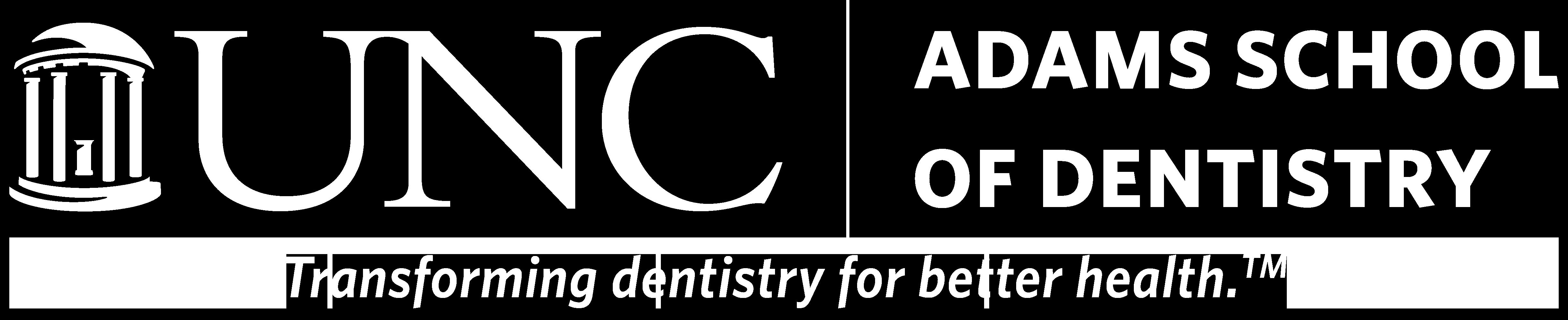 Adams School of Dentistry site home